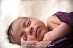 عکاسی از نوزاد در خانه