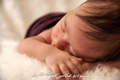 عکاسی نوزاد در خانه