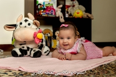 عکاسی در منزل از نوزاد