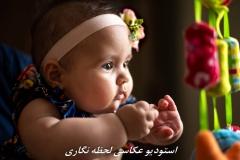 عکاسی نوزاد در منزل با تیم لحظه نگاری