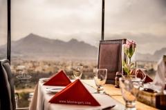 عکاسی از نمای رستوران هتل