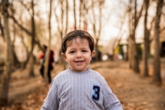 عکاسی از کودک در فضای باز