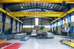 عکاسی صنعتی از فولاد بام اسپادانا