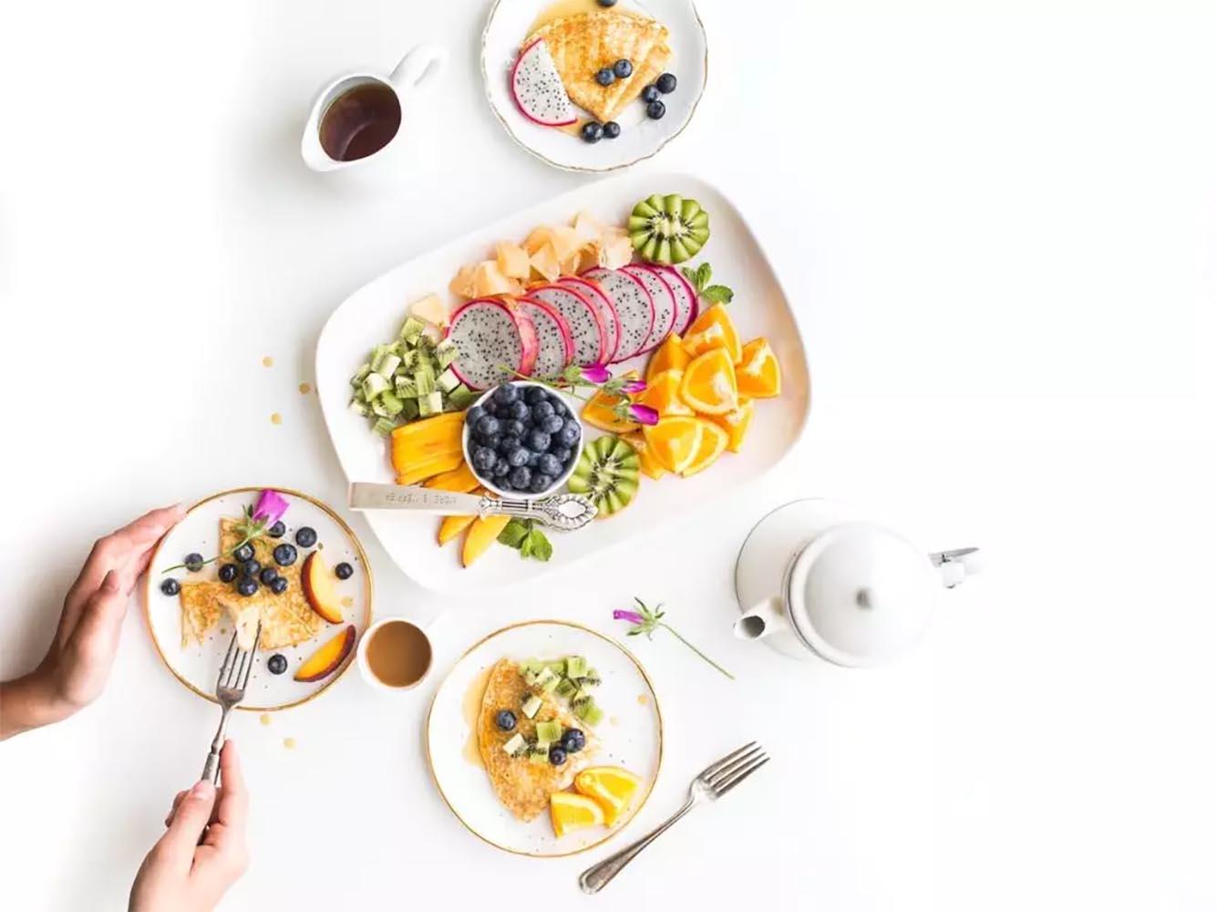 عکاسی غذا مینیمال