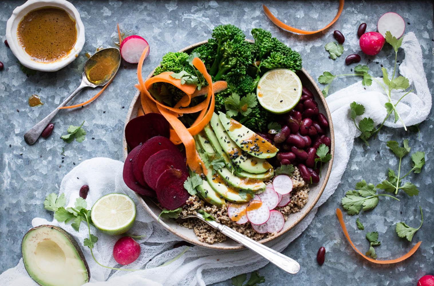 تزئین غذا برای عکاسی